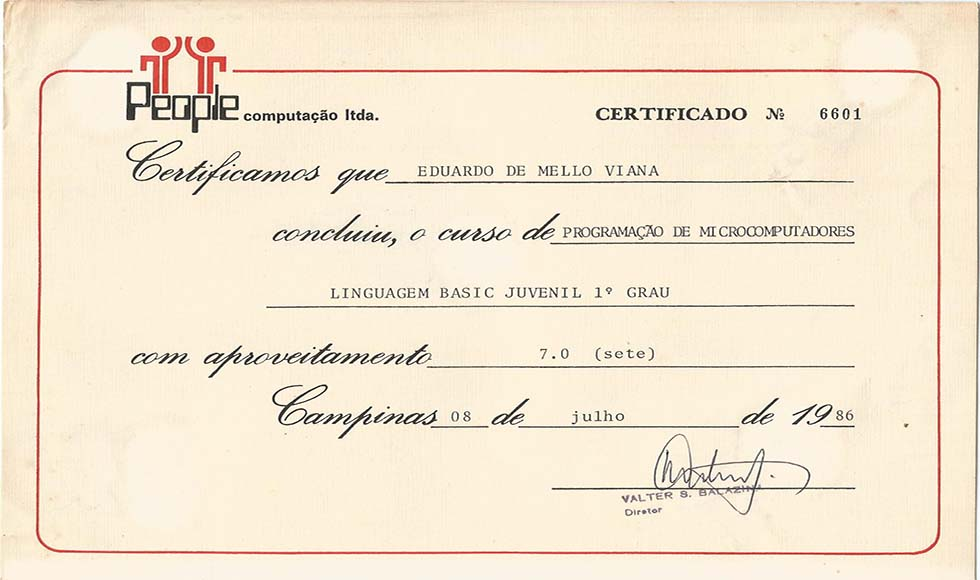 Certificado People - Basic 1.2