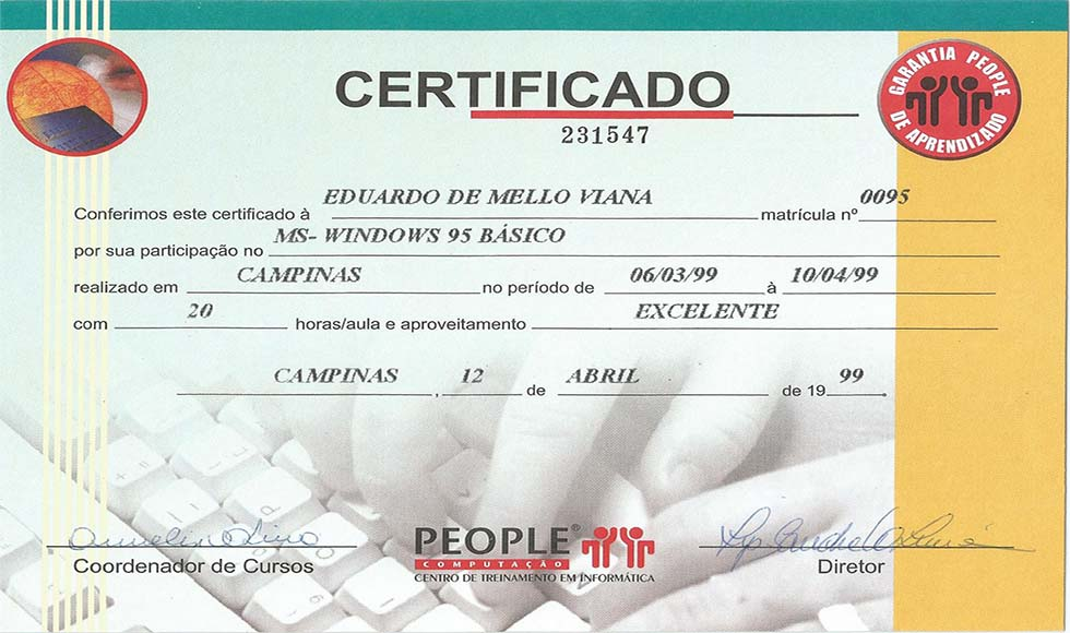 People - Windows 95 - Básico